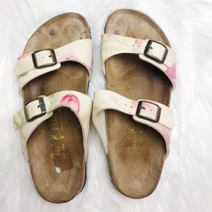 Birkenstock Papillio Floral Sandals Size 38